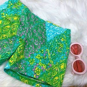 Lily Pulitzer Retro High Waisted Shorts 00